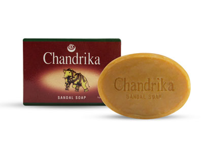 Open Chandrika Sandal Soap