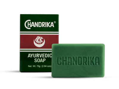 Open Chandrika Ayurvedic Soap